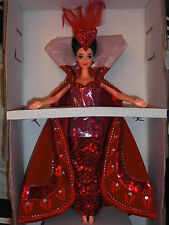 "NRFB  "" QUEEN OF HEARTS "" Barbie  1994"