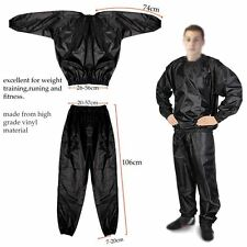 Heavy Duty Sweat Suit Sauna Suit Exercise Gym Suit Fitness Weight Loss Anti-Rip