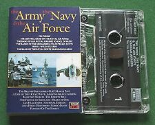 The Army Navy & Air Force inc Aces High & Amazing Grace + Cassette Tape - TESTED
