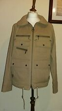 Barbour x white mountaineering tanche veste stone taille l rrp £ 279