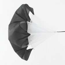"Black TM 56"" Speed Resistance Training Parachute Running Chute Training Tool"