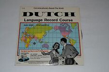 Conversa-phone's Round-The-World~Dutch Language Record Course~FAST SHIPPING!