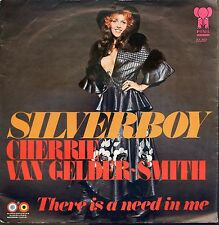 7inch CHERRIE VAN GELDER-SMITH silverboy HOLLAND EX +PS 1973 PINK ELEPHANT