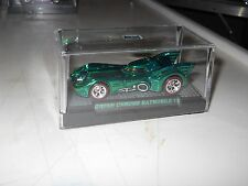 HOTWHEELS 2016 RALPHS CUSTOMS  BATMOBILE GREEN CHROME  CHROME RIMS 1/10 REDLINES