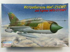 Maquette avion russe JET FIGHTER MIG EASTERN EXPRESS 1:72 NEUF aviation aircraft