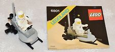 LEGO Space Classic Moon Buggy 6801 Complete with Instructions
