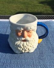 VINTAGE 1991 POSSIBLE DREAMS LTD CERAMIC SANTA CLAUS CHRISTMAS CUP / MUG