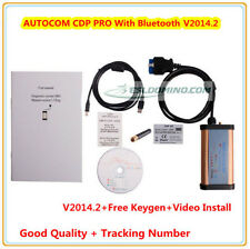 2014.2 BlueTooth AUTO Diagnostic Interface OBD2 Scanner 4 Cars Trucks Tailer Bus