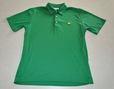 Masters Golf Shirt Performance Green Medium