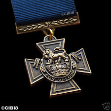 Victoria Cross British Medal Highest UK Award Royal Navy Repro Naval Personnel
