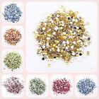 2000pcs 2mm Sparkling Resin Rhinestone Flatback Crystal 14 Facets Gems beads
