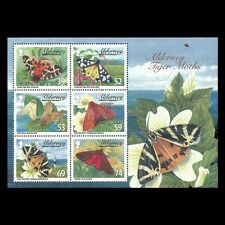 Alderney 2012 - Alderney Tiger Moths Nature Butterflies Insects S/S- Sc 445a MNH