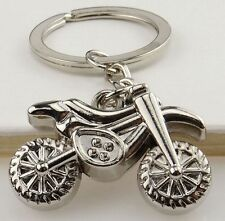 Creative Couple Motorcycle Bicycle Key Chain Ring Keychain Keyring Keyfob