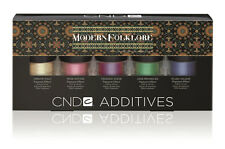 2014 Creative CND MODERN FOLKLORE  Additives Collection Kit 5-pc  BRAND NEW !!