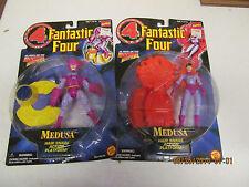 1996 Marvel Comics Toy Biz Fantastic Four Medusa, Wizard  NIP