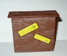 VINTAGE 1980'S KENNER STRAWBERRY SHORTCAKE BROWN COUNTER FOR HOUSE VGC