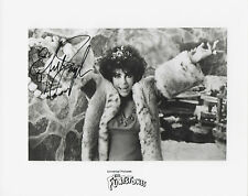 DAME ELIZABETH TAYLOR Signed 10x8 Photo GIANT & THE FLINTSTONES COA