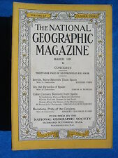 National Geographic Magazine March 1929 Vintage Ads Car Truck Advertising