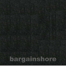 """48""""W by the foot BLACK Fabric Velcro Receptive wall decor covering carpet"""
