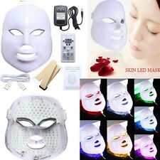 7 Colors Light Photon LED Facial Mask Skin Rejuvenation Beauty Therapy HOT