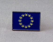 European Union / EU Flag Enamel & Metal Lapel / Pin Badge - 24mm BRAND NEW