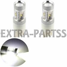 2X White 7440 30W Cree Backup/Reverse LED Light bulb Lamp W21W 7441 US 12V 7441