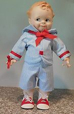 """Vintage Reproduction Cameo Scootles Vinyl 15 1/2""""  Doll by Jesco"""