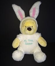 Winnie the Pooh My First Easter bear in White Bunny Rabbit costume Disney baby