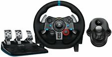 Gaming Racing Wheel PLUS 6 SPEED SHIFTER+Pedals Driving Simulator Game PS3 PS4