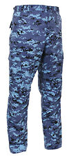 BDU Pants Digitial Camouflage Military Cargo Fatigue Rothco