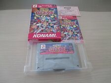 >> GOKUJO PARODIUS SHOOT SFC SUPER FAMICOM JAPAN IMPORT COMPLETE IN BOX! <<