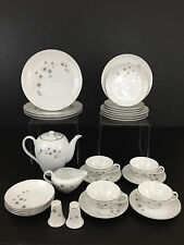 Service for 4, CREATIVE fine china #1014 dinnerware set Japan 1960's