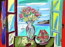 David Gerstein Works on Canvas MORNING TABLE Digital Print - Limited edition