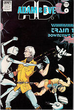 ADAM AND EVE A.D. #4 1986 BAM BY SHAWN SHARP//TIM ZIMMERMAN FN-