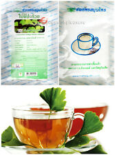 GINKGO BILOBA TEA BAG Memory Improve Infusion Brain Blood Circulation Mental