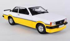 OPEL ASCONA B I2000 1979 WHITE YELLOW SUNSTAR 5343 EUROPEAN COLLECTIBLES 1:18