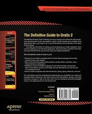 The Definitive Guide to Grails 2 By Brown, Jeff | New (Trade Paper) BOOK