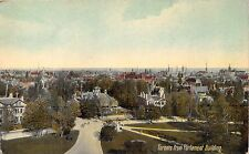 TORONTO ONTARIO CANADA VIEWED FROM PARLIAMENT BUILDING POSTCARD 1909