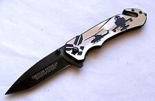 Taschenmesser Apache Vietnam Veteran Hubschrauber Army Scheibenhammer Knife