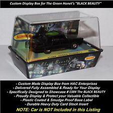 Custom Display Case for Aurora TJet #1384 Green Hornet's  'BLACK BEAUTY'