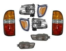 2001-04 TOYOTA TACOMA HEADLIGHT CORNER (SILVER), SIGNAL & REAR TAIL LAMP LIGHT
