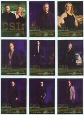CSI Series 3 Full 9 Card Gold Foil Chase Set from Strictly Ink
