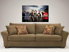 "SIMPLE PLAN 35""X25"" MOSAIC WALL POSTER POWER POP PUNK PIERRE BOUVIER"