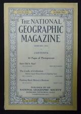 National Geographic February 1916 The Cradle Of Civilization, How Old Is Man?
