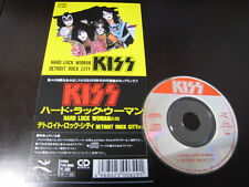 KISS Hard Luck Woman Detroit Rock City Japan 3 inch CD Single in 1988 Mini CDS