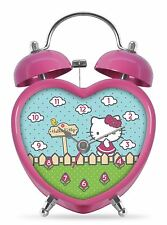 Hello Kitty Heart Shaped Alarm Clock - Gift Boxed PHD2163GB
