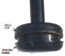 """50 BLACK DELUXE INSERT CUP 1-1/2"""" FOR WROUGHT IRON MEAUSRE INSIDE DIAM WELD CUP"""
