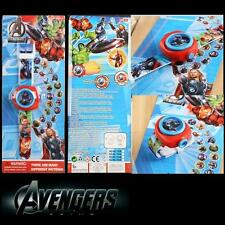 The Avengers Children Kids Digital Watch PROJECTION Projector 20 images + CHARM