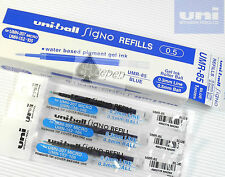 3 pcs refills UMR-85 0.5 For UNI-BALL Signo UMN-207MICRO & umn-152  Blue ink