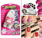 New Fashion Hollywood Nails All in One Nail Art System Kit As Seen On TV SET 948